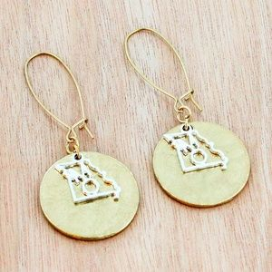 Missouri Disk Earrings